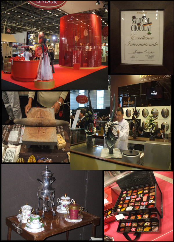 Salon du chocolat for Salon du the