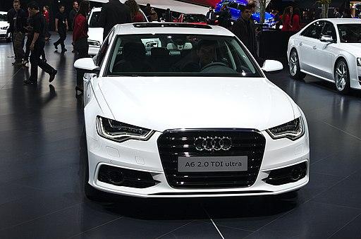 Salon de l'auto de Genève 2014 - 20140305 - Audi A6 2.0 TDI ultra