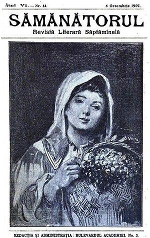 Sămănătorul - Sămănătorul issue, cover dated October 6, 1907