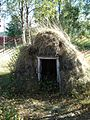 Sami earthen house, Jukkasjarvi.jpg