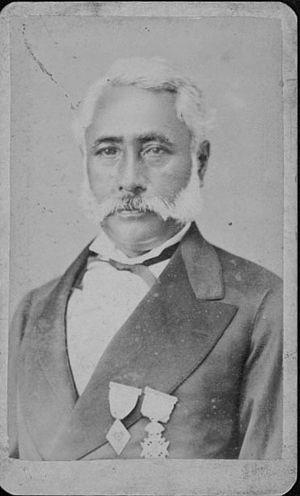 Governors of Hawaii (island) - Image: Samuel Kipi (PP 75 1 004)