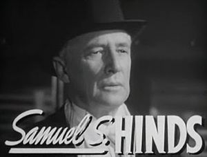 Samuel S. Hinds - from the trailer for  Grand Central Murder (1942)