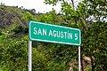 San Agustín sign, Huila, Colombia.jpg