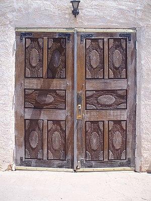 San Ysidro, New Mexico - Church doors, San Ysidro