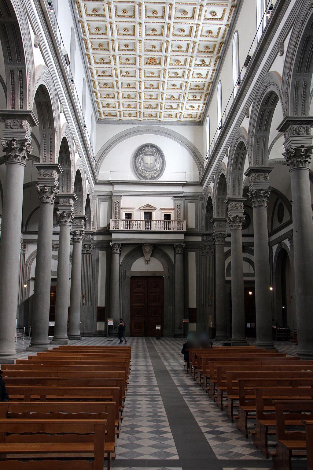 San lorenzo, tribuna delle reliquie di michelangelo, 01