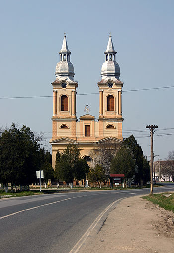 Church of Sándorháza (Sandra)