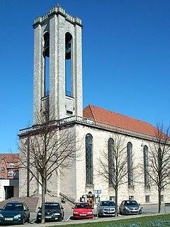Church in Århus C, Denmark