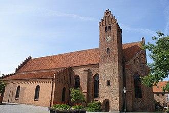 Greyfriars Abbey, Ystad - Image: Sankt Petri Kyrka