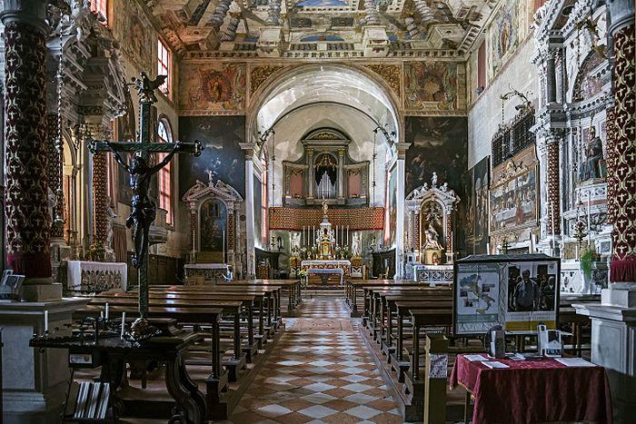 Sant'Alvise (Venice) interior