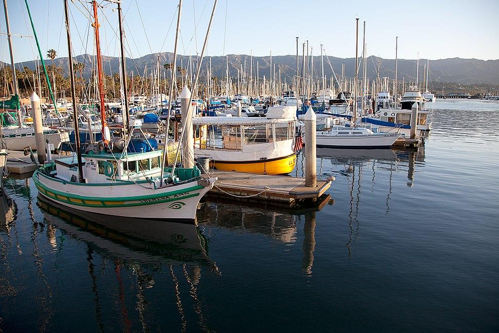 Santa Barbara Harbor 2015
