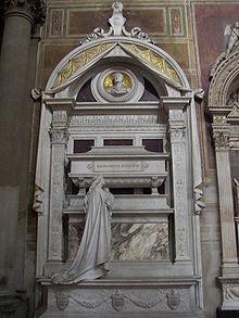 Rossinis Grab seit 1887 in Santa Croce in Florenz (Quelle: Wikimedia)