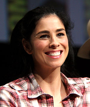 Silverman at the 2012 Comic-Con in San Diego