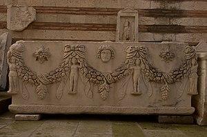 Manisa - Sarcophagus in Manisa Museum
