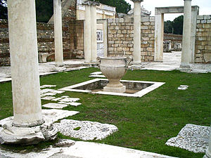 Peri Pascha - Remains of the Sardis Synagogue. Near present-day Sart in the Manisa province of Turkey.