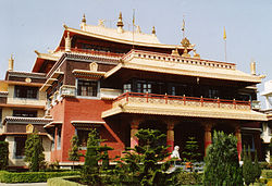 Sarnath tibetan temple 1