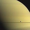 Saturn & Tethys - May 27 2015 (35431723865).jpg