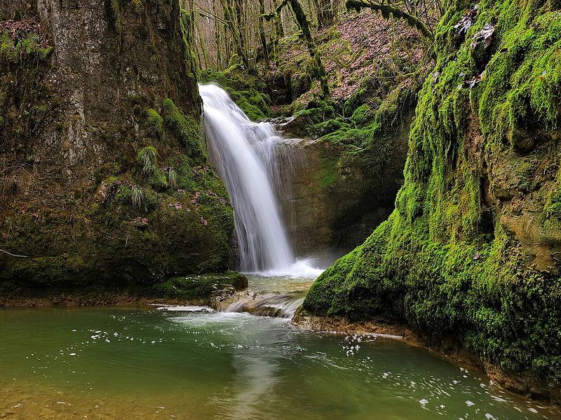 La grande cascade de la Brême