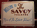 Savoy Theatre Monmouth, sign.jpg
