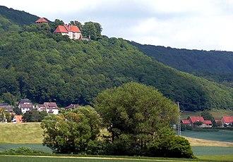 Schaumburg Castle, Lower Saxony - Schaumburg Castle as seen from below in 2009