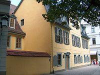Schiller House., Weimar