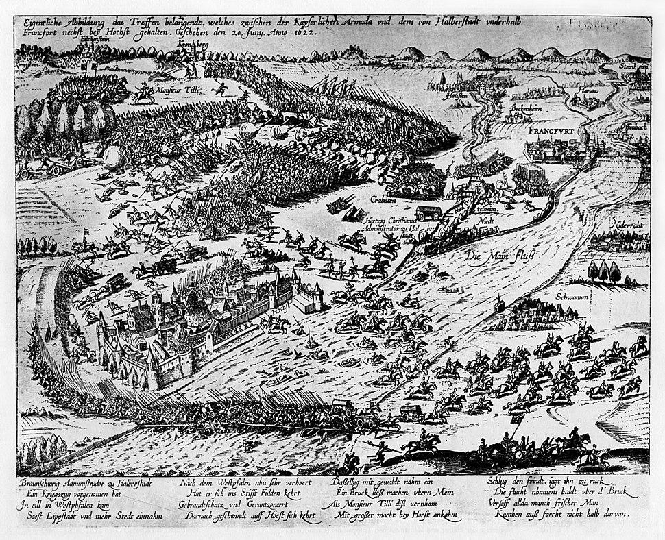 Schlacht bei Hoechst 1622 unbekannt