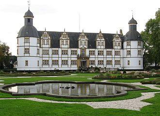 Prince-Bishopric of Paderborn - Neuhaus Castle, Paderborn, residence of the prince-bishops