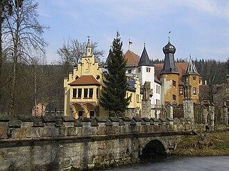 Saxe-Altenburg - Image: Schloss zur froelichen wiederkunft IMG 3141