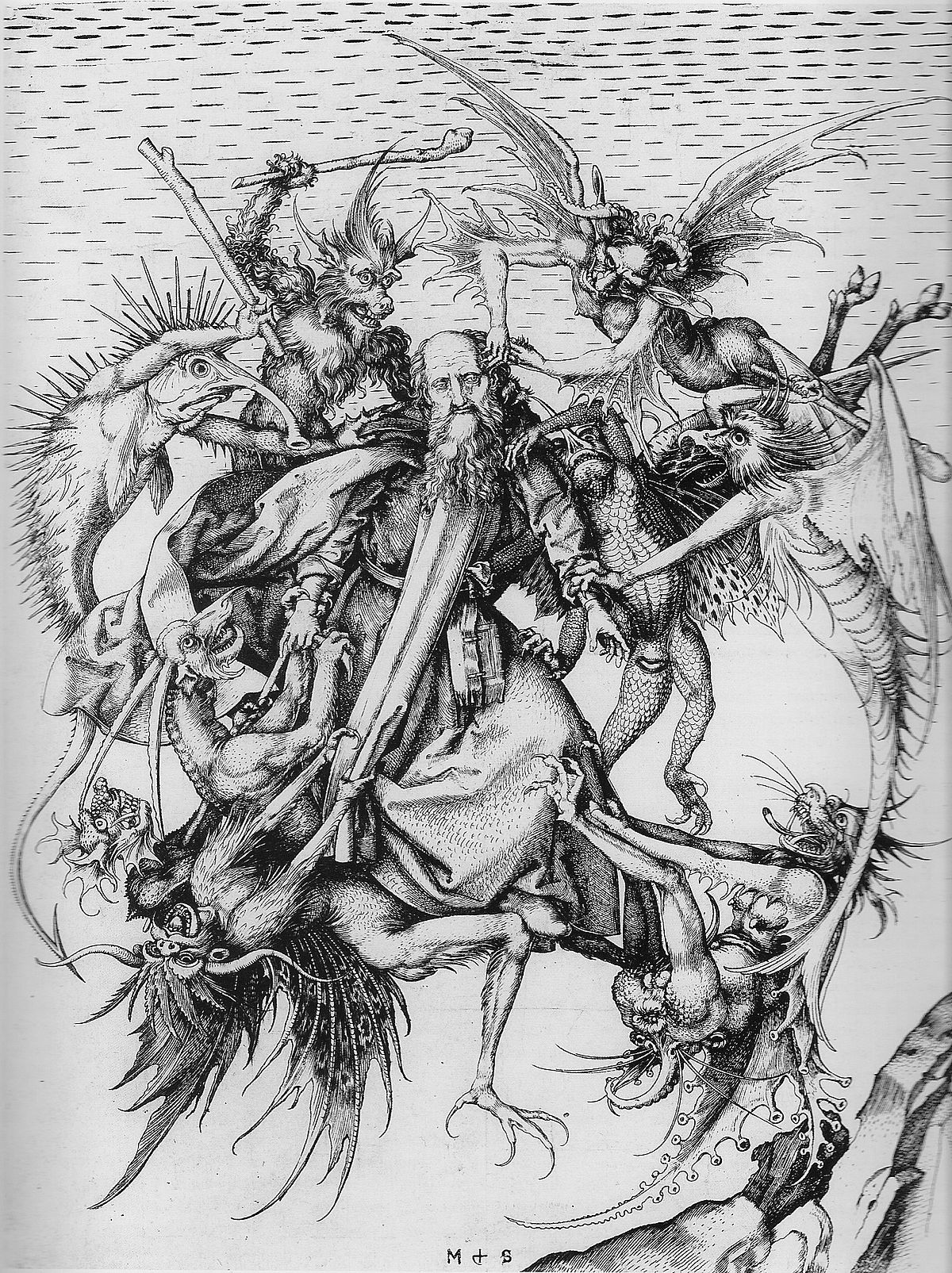 The temptation of st anthony schongauer wikipedia biocorpaavc
