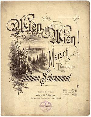 Johann Schrammel - Wien Bleibt Wien!