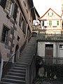 Schwäbisch Hall, Treppe zwischen Unterer und Oberer Herrengasse.jpg