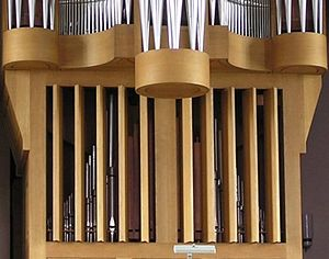 Swell box - Swell box shutters of a Klais organ in Kleve, Germany