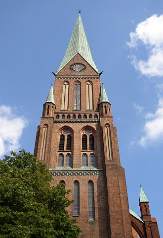 Schwerin Cathedral - The tower