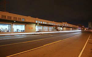 Southern California Institute of Architecture - North End of SCI-Arc from Santa Fe Ave