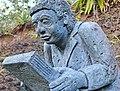 Sculpture - Maloya - joueur de Kayamb - 001.jpg