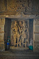 Sculptures inside Jain temple,Chittorgarh Fort 02.jpg