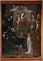 Scuola toscana, madonna col bambino incoronata tra santi, 1600-50 ca.jpg