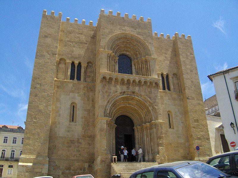 Image:Se Velha of Coimbra front.jpg