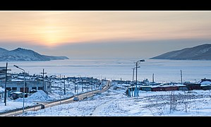 Sea of Okhotsk seen from Nagaev Bay.jpg