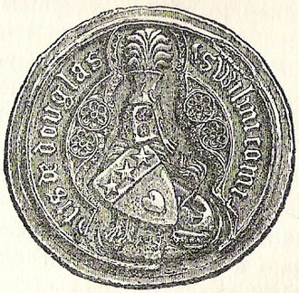 William Douglas, 1st Earl of Douglas - Seal of William Douglas, 1st Earl of Douglas.