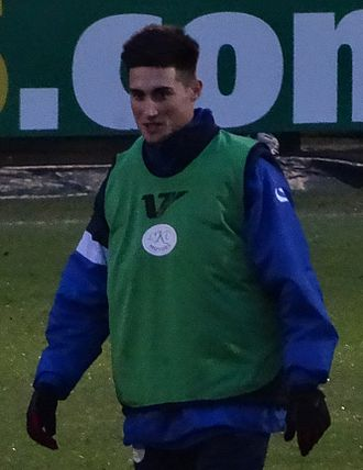 Sean Shields - Shields training with Dagenham & Redbridge in 2014