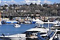 Seattle - seaplane ascending, seen from west shore of Lake Union - 01.jpg