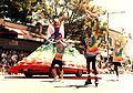 Seattle Pride 1995 - car dress.jpg