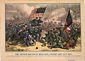 Timeline of United States history - Image: Second Battle of Bull Run