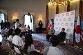Secretary Clinton and Ambassador Roos at the Tomodachi Event (7527648704).jpg