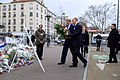 Secretary Kerry and French Foreign Minister Fabius Lay a Wreath at Hyper Cacher Kosher Grocery Store in Paris (16290468431).jpg
