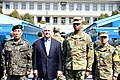 Secretary Tillerson Poses for Photo With U.S. and ROK Forces During Visit to the Joint Security Area of the DMZ (33486636255).jpg