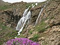Sefidab Waterfall,view top,Lar آبشارسفیدآب از بالاترین نقطه،لار - panoramio.jpg