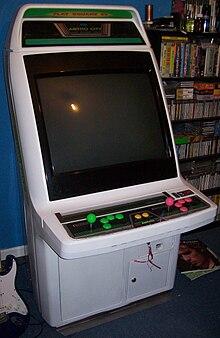 borne arcade en anglais