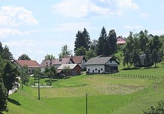 Selo pri Robu Place in Lower Carniola, Slovenia