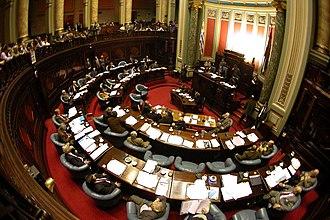 Senate of Uruguay - Image: Senado ojopez
